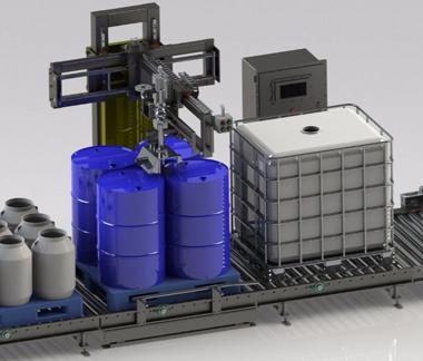 废桶残液收集系统项目