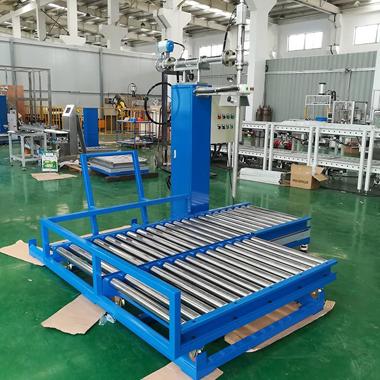 铁桶堆放装置技术研发