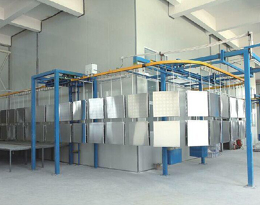 铁桶喷漆系统技术研发
